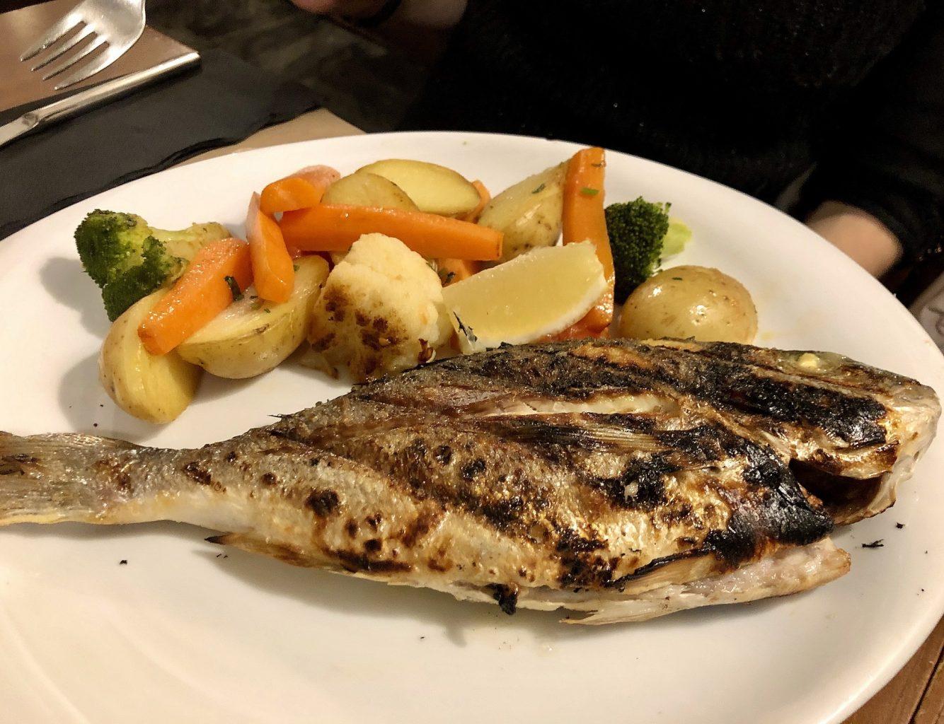 El Rei, Lisbona, pesce