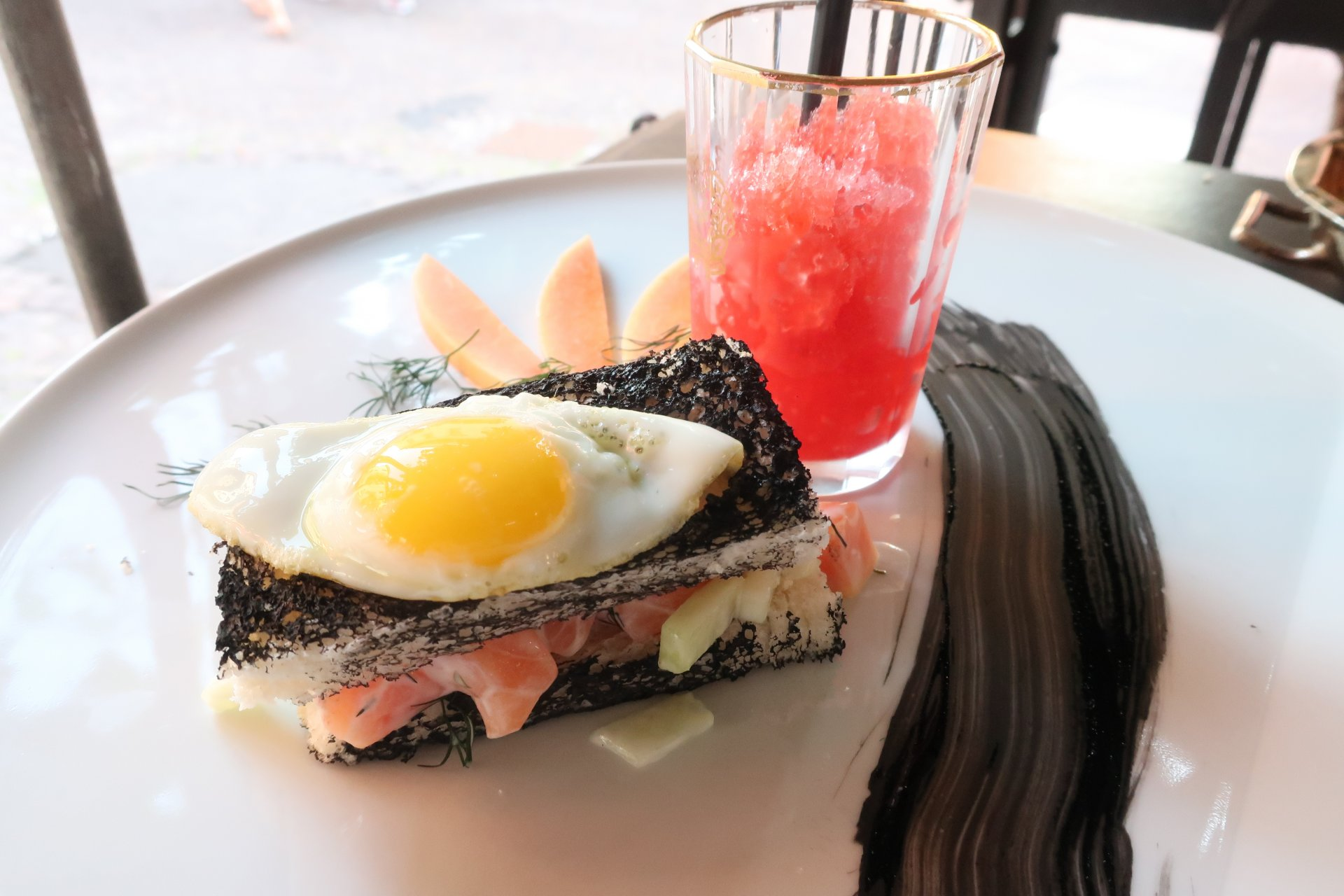Sandwich veneziano,  Osteria la Fontanina.