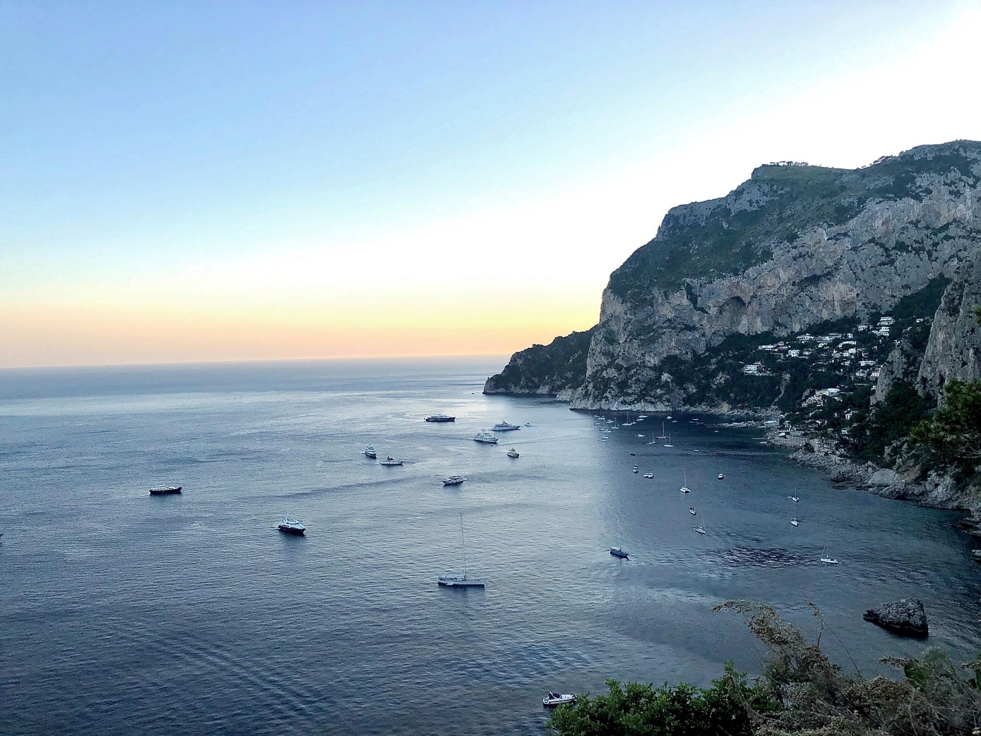 Vista, Le Monzù, Capri