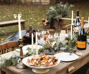 Il menu per le feste, firmato Veuve Clicquot